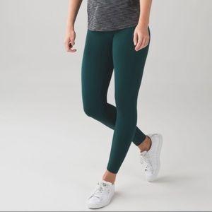 Green Lululemon tights